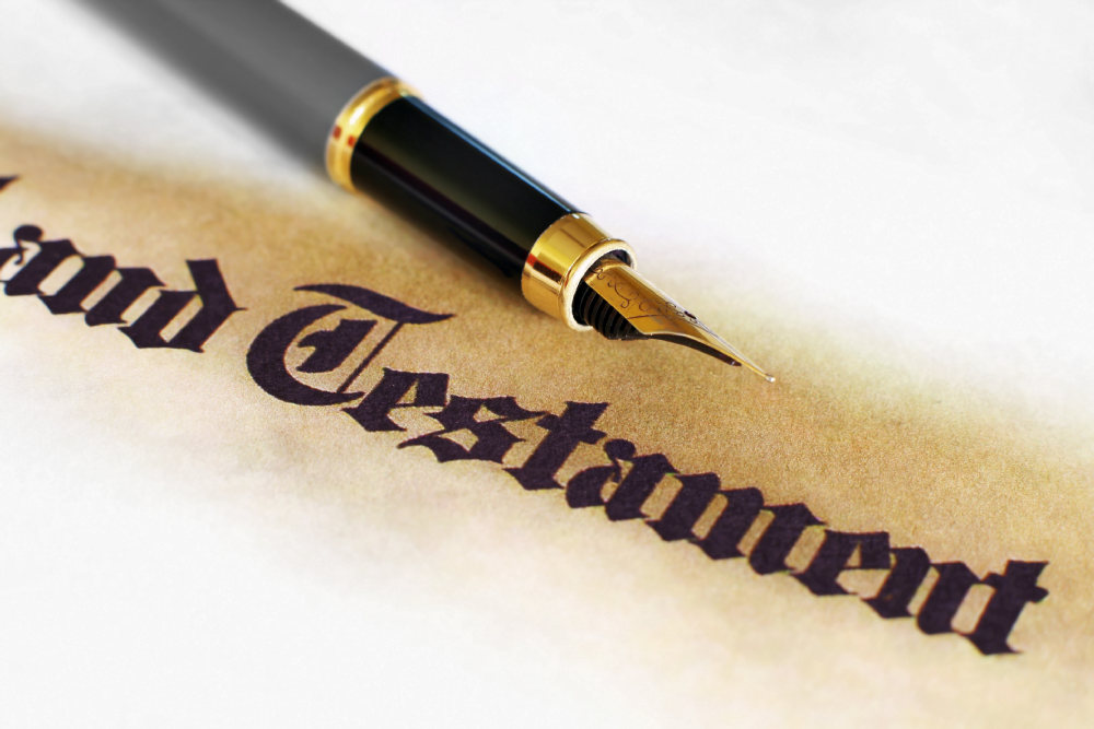 Votre notaire et le testament